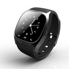 Ace M26 Bluetooth Smart Watch wristwatch smartwatch With LED Alitmeter Music Player Pedometer For Apple IOS Android Smart Phone * Check this awesome product by going to the link at the image.
