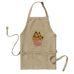 cross stitch chocolate chip muffin
