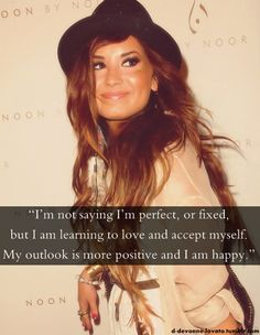 demi lovato quotes | Tumblr shes the greatest inspiration of them all.