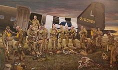 GBP - Easy Company Airborne Easy Company Photo Print D-Day Filthy Thirteen Military Photos, Military Art, Military History, Military Memes, D Day 1944, Military Drawings, Civil War Photos, Paratrooper, Aviation Art