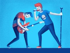 The gig designed by Paula Rusu. Connect with them on Dribbble; the global community for designers and creative professionals. Zombie Cartoon, 3 Characters, Drawing Studies, Design Inspiration, Study, Graphic Design, Drawings, Illustration, Blog