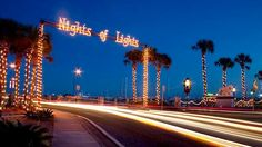 St Augustine Nights of Lights, Festivals in St Augustine, Things to Do in Florida, Ponte Vedra Holiday Events, Night of Lights   Your Florida Getaway - FloridasHistoricCoast.com
