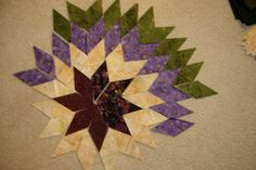 Fiber art before and beyond: Lone Star quilt tutorial coming soon is here, ideas