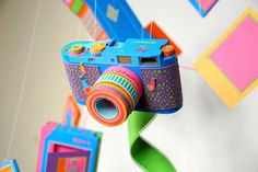Colorful camera!