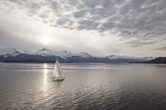 Sailing+at+Sunset,+Alaska+09