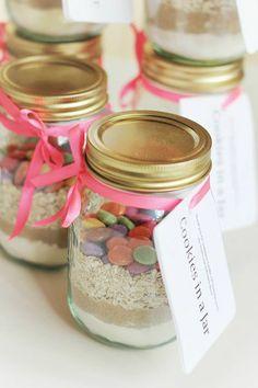 Cookies in a jar food gift