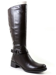 Easy Spirit Women's Leighton Knee-High Boot Mink Brown Size 7.5 M #EasySpirit #FashionKneeHigh