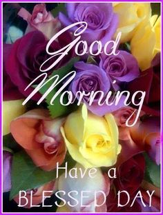 Good Morning Have A Blessed Day!  Enjoy the sunshine! :)