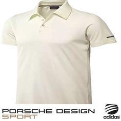 272e27e0e23 Porsche Design Sport by adidas P 5000 S  Pique Polo Shirt Ecru Cream BNWT  X15699