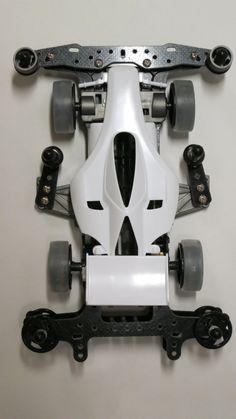 Tamiya 1/32 MINI 4WD Azente Progress Super-II Chassis