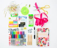 Back to School Gifting: School Supplies + Gift Card to stretch the fun!