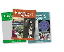 New! Our Junior Great Books Nonfiction Inquiry classroom materials for grades 3, 4, & 5 help teachers and students extend inquiry-based learning into informational texts. Each grade-level set features 9 high-quality nonfiction units aligned with grade-appropriate national benchmarks in science and social studies as well as national standards for reading, writing, listening, and speaking.
