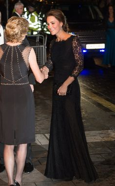 Pin for Later: Heute und damals: So hat sich der Stil der Stars entwickelt Kate Middleton, die Herzogin von Cambridge – heute