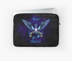 Mystic Team Blue Pokeball Laptop Sleeves #case #cover #laptopsleeve #sport #gameboy #gamecube #gamecontroller #nintendo #sega #playstation #ps #ps1 #ps2 #ps3 #ps4 #retro #vintage #Pokemon #pokeball #pikachu #gengar #pokedex #monster #duelmonster #Mystic #Instinct #Valor #Articuno #Zapdos #Moltres #cartoon