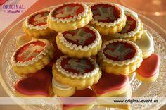 64 mini galletas decoradas a juego