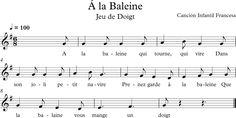 À la Baleine. Canción Infantil Francesa