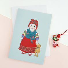 K-paper Christmas Card c15022ll