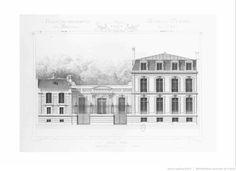L'architecture privée au XIXe siècle, sous Napoléon III : nouvelles maisons de Paris et des environs. T. 1 / par M. César Daly,...