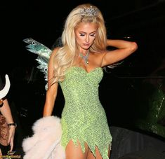 fairy halloween costumes Paris Hilton - Real Time - Diet, Exercise, Fitness, Finance You for Healthy articles ideas Halloween Costume Teenage Girl, Fairy Halloween Costumes, Trendy Halloween, Halloween Outfits, Best Celebrity Halloween Costumes, Halloween Halloween, Halloween Inspo, Halloween Recipe, Halloween Parties
