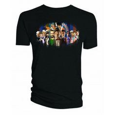 Doctor Who: 50th Anniversary Shirt | Doctor Who Shop Keep a part of history with you with this Whovian must-have shirt that includes all Eleven Doctors.