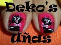 Resultado de imagen para uñas deko's 2014 Pedicure, Nails, Cheese, Facebook, Nail Design, Pretty Nails, Tutorials, Model, Perfect Nails