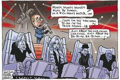 Wayne Swan on The Voice    Mark Knight cartoon 6 May 2012