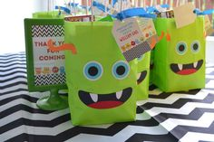 {Little Monster Birthday Bash} | CatchMyParty.com