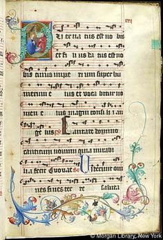 Gradual, MS M.905 I, fol. 22r - Images from Medieval and Renaissance Manuscripts - The Morgan Library & Museum