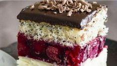 blechkuchen Paradise pleasure in the Cherry Fantasy cake Food Cakes, Cupcake Cakes, Bolet, Fantasy Cake, Romanian Food, Sweet Pastries, Vanilla Cake, Baked Goods, Cake Recipes
