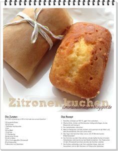 #Kindheitserinnerungen #Zitronenkuchen Cupcakes, Muffin, Energy Balls, Bread, Post, Breakfast, Sweet, Powdered Sugar, Pies