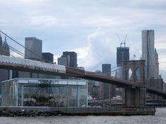 Janes' Carousel Pavilion. Brooklyn, New York - Atelier Jean Nouvel