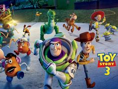 Toy Story 3 is the last of the Toy Story series in which Andy, the main character, finds himself in a place of leaving home and finally growing up and going to college, all the while having to leave his childhood behind.     http://www.imdb.com/title/tt0435761/