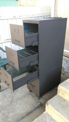 File Cabinet Smoker by Kevin Kirk