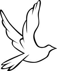 holy spirit dove outline - Google Search
