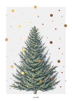 http://it.dawanda.com/product/72948067-kunstdruck-poster-tanne-fake-gold