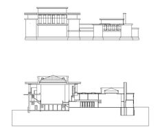 Unity Temple-Frank Lloyd Wright – CAD Design | Free CAD Blocks,Drawings,Details