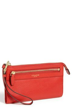COACH 'Legacy - Zippy' Leather Wallet (Save Now through 12/9) | Nordstrom $81