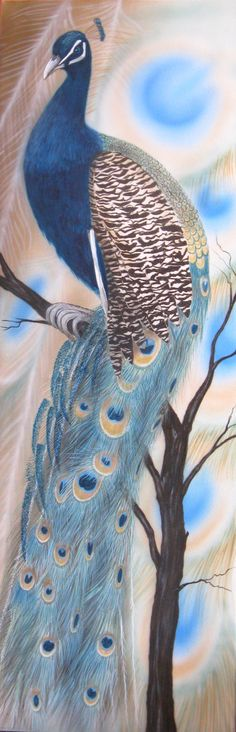 Peacock 2013. Showing in Art Box gallery Papanui.