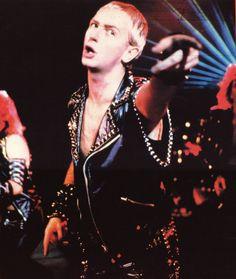 Vintage Rob Halford of Judas Priest. Charming & talented