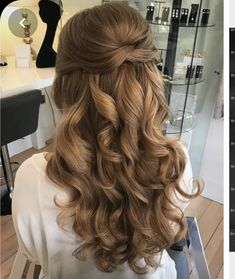 Little Girl Braid Hairstyles, Prom Hairstyles For Long Hair, Homecoming Hairstyles, Elegant Hairstyles, Down Hairstyles, Easy Hairstyles, Wedding Hairstyles, Hairstyle Ideas, Updos Hairstyle