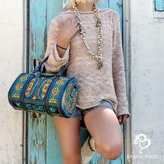 Best nano handbag for you! Fashion Bags, Boho Fashion, Girl Fashion, Style Fashion, Fashion Accessories, Nano Bag, Bohemian Girls, Teal Yellow, Vegan Fashion