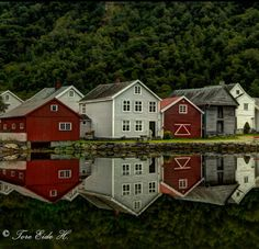 Lærdal by Tore H. - Photo 126474031 - 500px (Norway)
