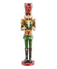 "3PC 6"",8"",12"",15"" TRADITIONAL NUTCRACKER STANDING FIGURINES CHRISTMAS DECORATION"