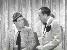 """Funniest video everr Abbott & Costello -(]""""Who's On First? It's Funny, Funny Stuff, Hilarious, Bud Abbott, Whos On First, First Halloween Costumes, No Crying In Baseball, Comedy Duos, Abbott And Costello"""