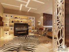 inclusao de um piano vertical em uma sala