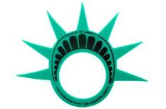 Statue of Liberty Foam Crown - great for weddings, bat-mitzvahs, and any NYC Event. $1.99