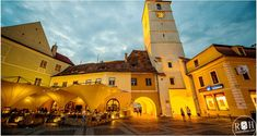 The magical city of Sibiu in Romania What to see in Romania. Where to go in Romania. The most interesting in Romania. Where To Go, Romania, Places To See, Mansions, Country, House Styles, City, Travel, Blog