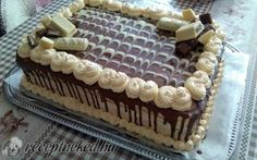 Tejkaramellkrémes torta Tiramisu, Food Hacks, Chocolate Cake, Cake Decorating, Cheesecake, Food And Drink, Candy, Pavlova, Cooking