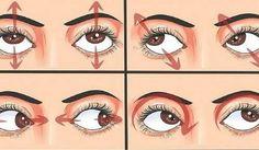 Hay una serie de ejercicios visuales que puedes hacer todos los días para aliviar el estrés de tus ojos y prevenir su deterioro.