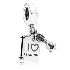 PANDORA Love to Read Dropper Charm 791984   The Jewel Hut